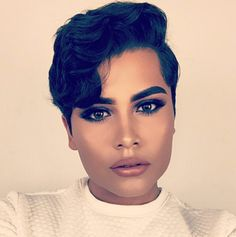 Alan Macias: He instantly gained a huge social media following with his glamorous beauty looks.