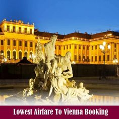 Schönbrunn Palace Vienna - Concerts and Tickets Albertina Wien, Lowest Airfare, Train Tour, Austria Travel, Vienna Austria, Eastern Europe, Wanderlust Travel, Cool Places To Visit, Istanbul