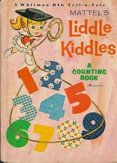 VINTAGE KIDS BOOK Mattel's Liddle Kiddles A by HazelCatkins, $10.00