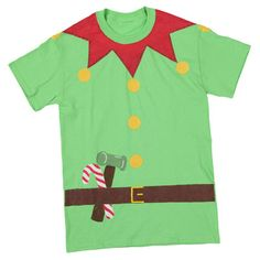 Santa's Little Helper T-shirt - another cute idea to make for the kids using fabric paints...or maybe felt.
