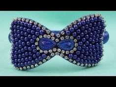 Passo a passo: Tiara com laço bordado em pérolas - YouTube
