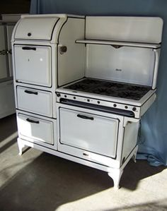 Someday, I want a restored antique stove in my kitchen.