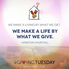 Holiday Giving: Ronald McDonald House Charities