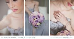 Lavender purple wedding