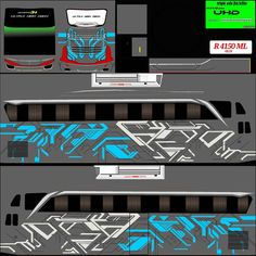 "55 Suka, 3 Komentar - Livery bussid terupdate++ (@bussidlivery.id) di Instagram: ""Livery UHD nya yg ada stiker kacanya:v by Indra,silakan dipilih:). Untuk Linknya silakan DM kami"" Heartbeat Tattoo With Name, Star Bus, Samurai Wallpaper, Bus Games, Racing Stickers, Cool Pictures, Funny Pictures, Luxury Bus, New Bus"