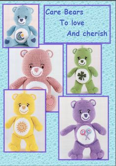 Care Bears crochet pattern par TinyWeeTinks sur Etsy
