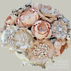 Luxurious Wedding Accessories — Centerpiece Collection Blush