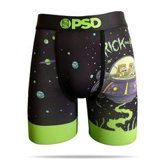 Get schwifty with the official Rick and Morty men's boxer brief collection from PSD Underwear. The PSD x Rick & Morty collab features iconic prints like Pickle Rick and Mashup. Boxers Underwear, Men's Boxer Briefs, Tomboy Fashion, Mens Fashion, Elmo, Aesthetic Clothes, Latest Fashion, Trunks, Cool Outfits