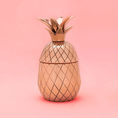 STYLE: tumbler want to be the hit of the party? then pick up a couple of these tumblers by the pineapple co. for the hostess. everyone will ooh and aah at how cool they are… then, in an act of magic,