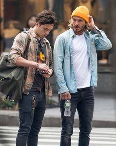 Star Tracks: Brooklyn & David Beckham Take N.Y.C., Plus Kesha, Kate Hudson & More