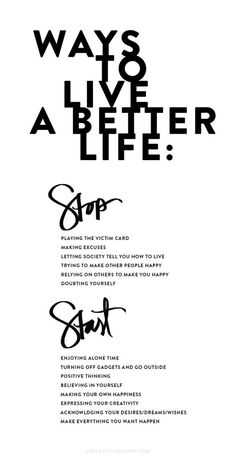 Ways to live a better life. Yeah baby, this is totally #WildlyAlive! #selflove…