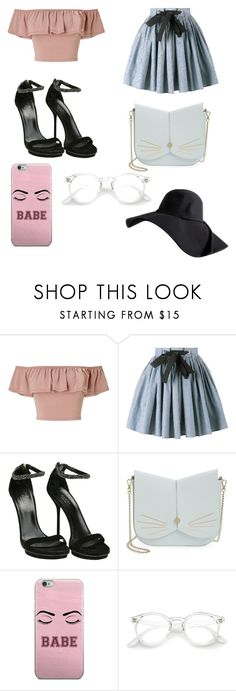 """""""Untitled #263"""" by alexandriamcbride on Polyvore featuring Miss Selfridge, Miu Miu, Gucci and Ted Baker"""