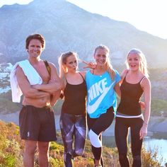 """""""Started day 2 on #bringwarg camp with incline intervals in The mountains  @jannid @alexandrabring @jonolsson1 @profitnesscamps #wargpower"""""""