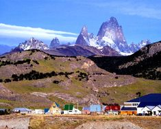 El Chalten, Argentina, at the base of Mt. Fitz Roy