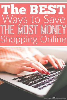 I can't wait to save money shopping online! These are genius ideas!