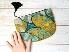 Iris, Boutique Etsy, Motif Floral, Artisanal, Coin Purse, Creations, Purses, Wallet, Collection