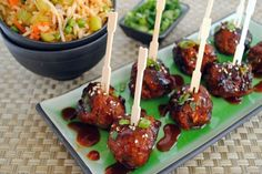 Spicy Korean-Style Gochujang Meatballs recipe on Food52