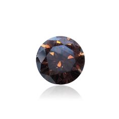 1.39 ct, Diamonds, Round Brilliant, Orangy Brown. SI1 clarity. IGI certificate. NF deep intensity. Available at. www.thegembank.com