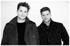 Charlie e Max Carver: le pazze foto dei gemelli per Terry Richardson