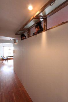 Interior Windows, Interior Exterior, Home Interior Design, Basement Renovations, Home Remodeling, Basement Flat, Small Cottages, Narrow House, Window Design