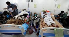 #موسوعة_اليمن_الإخبارية l وفاة شخصين كل يوم في تعز بوباء الكوليرا