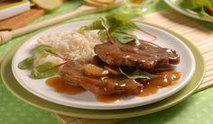 Bravčová krkovička na karameli: Bez zázvoru to nebude ono! Beef, Food, Meat, Essen, Meals, Yemek, Eten, Steak