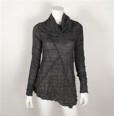 Sno Skins - Charcoal Blouse