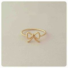 Ribbon wire ring $14