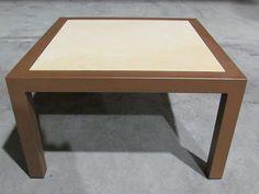 Mesa baja auxiliar acero y porcelanico MS-MM-MES050