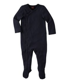 Take a look at this Indigo Wrap Footie - Infant by Tea on #zulily today!