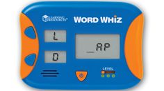 #VIDEO Word Whiz Electronic Flash Card™ - Word whiz puts reading fun right in the palm of their hands with this fast-paced game of letter sounds, word building and spelling. The centre screen shows a word ending. Build as many words as you can in 60 seconds and go for the high score! #WordGame #FlashCard #LearningResources