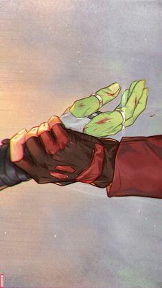 Gotcha || Avengers Infinity War || Gamora / Starlord || Cr: 郡内やすおみ