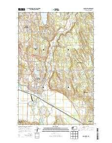 ~ Snohomish WA topo map, 1:24000 scale, 7.5 X 7.5 Minute, Current, 2014