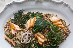 Find the recipe for Superfood Coconut Curry Salmon Salad and other kale recipes at Epicurious.com