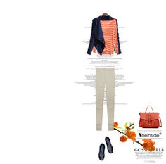 """Naranja"" by just-lala ❤ liked on Polyvore"