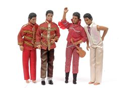 Michael Jackson Dolls from the 80's