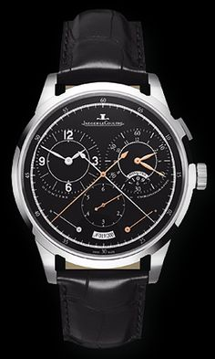 Jeager Le Coultre Duometre Chronographe 18K WG Hand Wind Available at Cellini Jewelers
