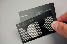 Logo and business cards designed by There for Sydney based architectural firm MCK