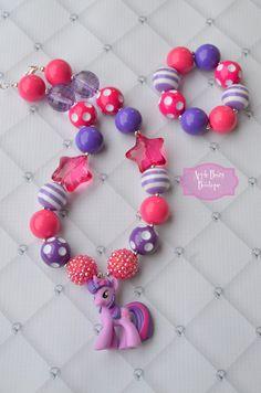 My little pony twilight sparkle star jewelry by AppleBearyBowtique, $19.00