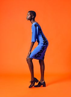 Los Angeles artist Dane Johnson recently exhibited his new line of hand painted apparel at Los Angeles gallery and concept space Either Way. Even though the exhibit ended last month, it still doesn't stop us drooling over the pieces in the collection modeled by the stunning Achok Majak from LA models. The lookbook was shot by JUCO.