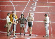 Les sportifs #Moïmee3D #CoolDeLuxe #CourBleue #BHV #Danse #Moïmap #Design