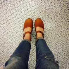 #lovemylottas @lottafromstockholm classic brown oiled nubuck highwood clogs ❤️