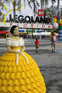 Although I am missing Cypress Gardens, I would love to take the grandkids to Lego Land Florida!