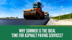 🌞 Summer is the PRIME time for pavement services. If your asphalt needs work, give us a ☎️ @ 514 0809 👉 We'd be happy to set up an appointment for a new paving project, parking lot repair, or asphalt maintenance. Driveway Sealing, Asphalt Repair, Set Up An Appointment, Thing 1, Prime Time, Parking Lot, Pavement, Curb Appeal, Driveways