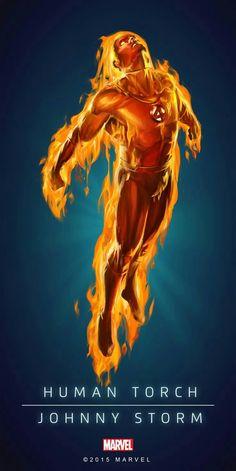 Human Torch Jhonny Storm
