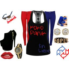 """In Love"" by panikaki on Polyvore"