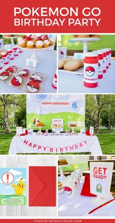 Come take a look at this awesome Pokemon Go birthday party that's great for boys or girls. Plus, you can download a FREE set of Pokemon Go cupcake toppers.