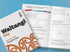 An activity book to help kids understand the significance of Waitangi Day. Learn through maps, flags, word puzzles, drawing, and colouring in. Language Activities, Fun Activities For Kids, Book Activities, Teaching Resources, Activity Books, Design Your Own Flag, Treaty Of Waitangi, Waitangi Day, Maori Words
