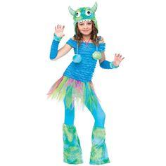 Blue Beasty Costume - Kids, Girl's, Size: Medium
