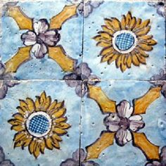 Italian Handmade tiles can be colour coordinated and customized re. shape, texture, pattern, etc. by ceramic design studios